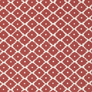 Ziggurat Ruby fabric
