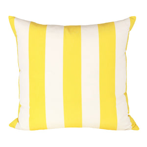 READY TO SHIP - Cabana Stripe Yellow 22x22