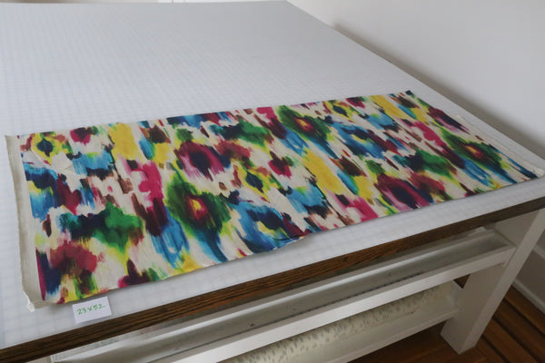 Watercolor Abstract fabric