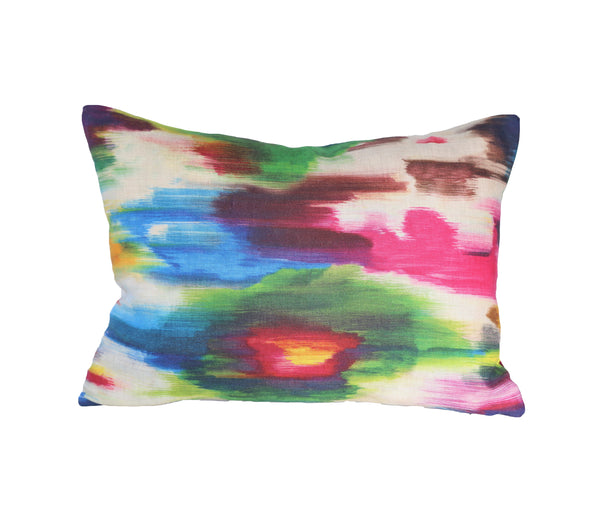 Watercolor Abstract Lumbar