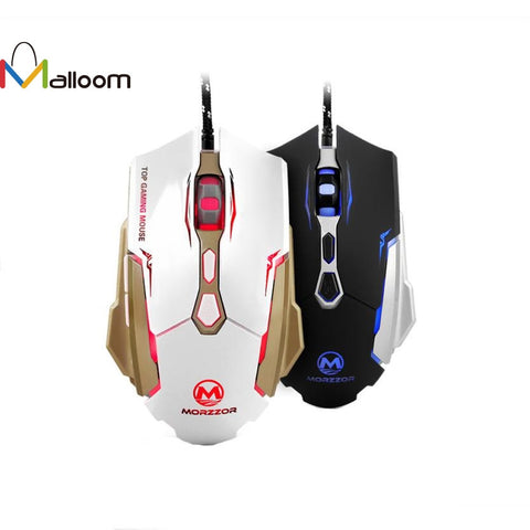 Gaming Mouse USB LED Optical Wired Gaming Mouse For Mac PC Laptop Mouse