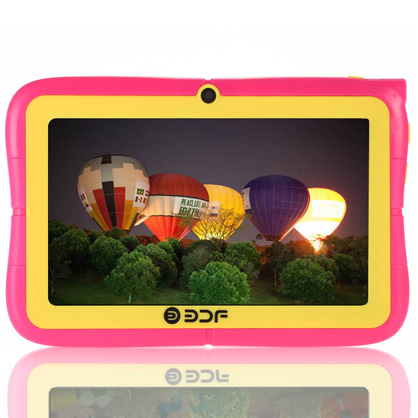 BDF Tablet for Children Quad Core Android 4.4 Best gifts for Child Wifi Allwinner A33 WIFI