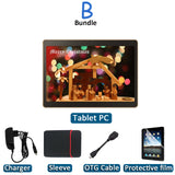 PC tablet Android 7.0 ROM 64GB Computer Dual SIM GPS tablets pcs 10 10.1