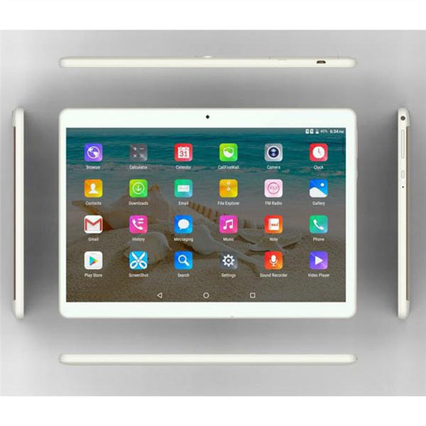 10.1 Inch Tablet PC Dual Sim Phone Pad Tablet PC Phablet with EU Plug