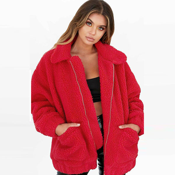 Women's Casual Jacket Winter Warm Parka Outwear Ladies Overcoat Coat