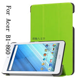 "Wholesale PU leather cover case for 8"" Acer Iconia One 8 B1-860 Android Tablet"