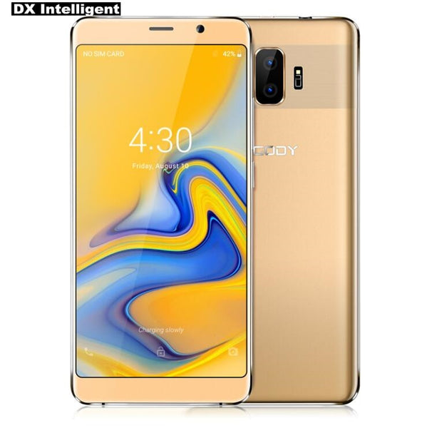 Flash Sale XGODY Y27 6.0 Inch 18:9 Screen Android 8.1 MTK6580 Quad Core 1GB+8GB 5MP Dual Back Camera GPS FM 2500mAh Mobile Phone