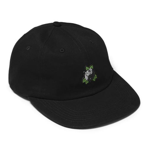 YIN YANG ROSE 6 PANEL CAP