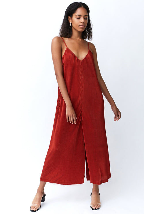 PAWA PLEATED JUMPSUIT