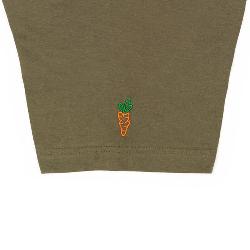 CARROT FADED CIRCLE LOGO T-SHIRT