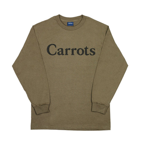 CARROT WORDMARK LONGSLEEVE