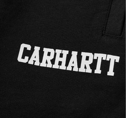 CARHARTT COLLEGE SWEAT SHORT