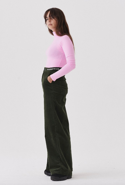 LAZY OAF WIDE LEG CORD PANTS