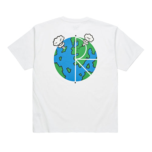 WORLD FILL LOGO TEE