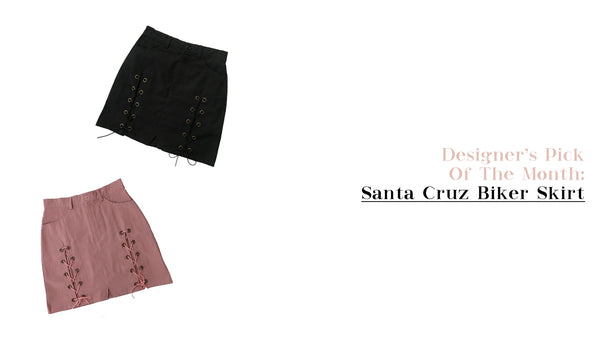 Designer's Pick Of The Month: Santa Cruz Biker Skirt