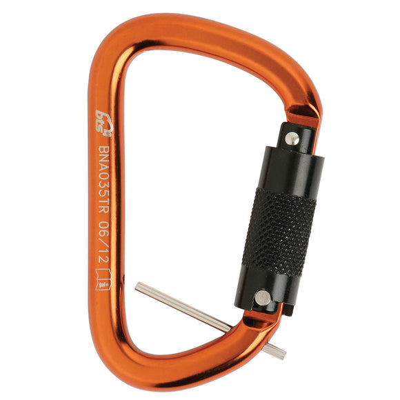 Triple Action Karabiner with Retaining Pin Alloy Steel
