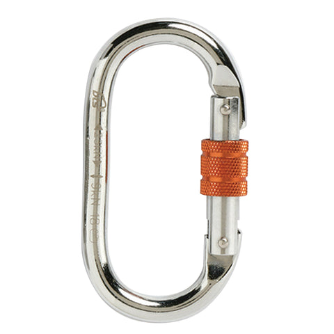 Screw Gate Oval Karabiner Alloy Steel
