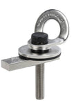 BTS Purlin Anchor Points 360° Swivel Eye Grade 316 Stainless Steel 2 Workers Rated