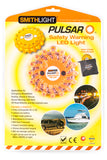 Pulsar Emergency Safety Warning LED Lights Rechargeable 9 Modes Yellow Orange Red Blue