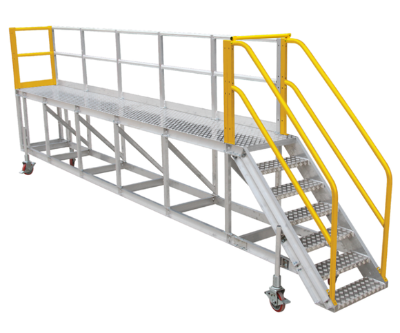 BTS Truck Access Platform 3m-6m Step or Stair Access Australian Certified. 2 Year Warranty