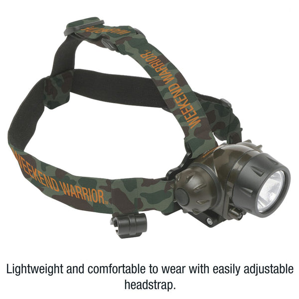 Weekend Warrior™General Purpose Industrial Cree LED Mini Headlamp.