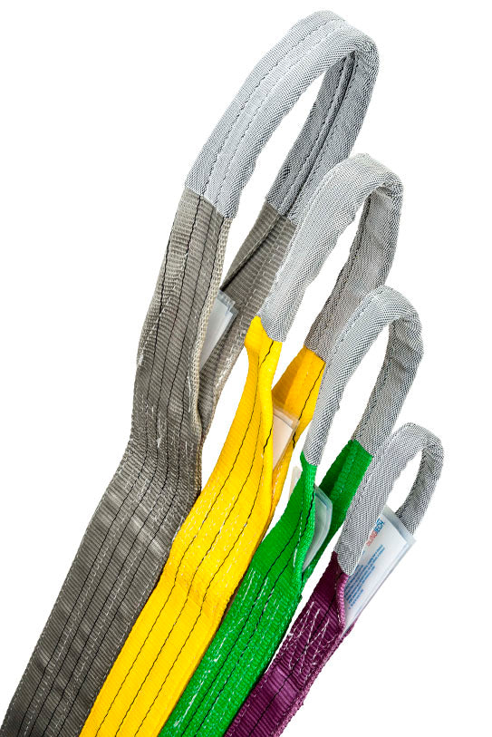 SLINGTECH Flat Webbing Slings 1T-6T 0.5m-8m Australian Standards AS 1353
