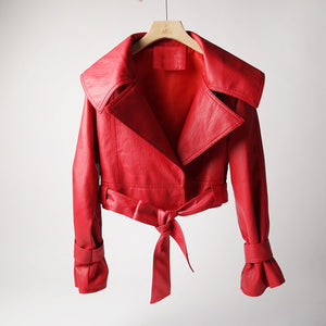 Red Fashion Coat