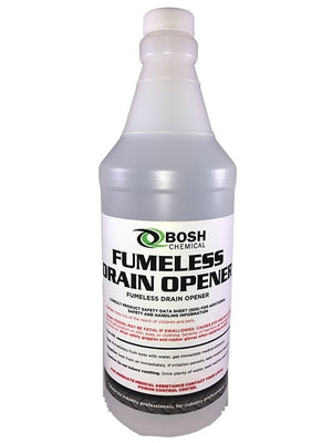 Bosh Chemical Fumeless Drain Opener 12 Quart Case
