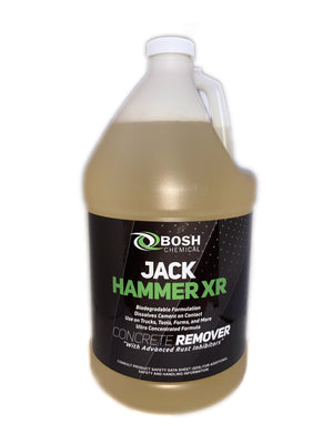 Jack Hammer XR Conrete Remover, Biodegradable Concrete Cleaner (Concentrate)