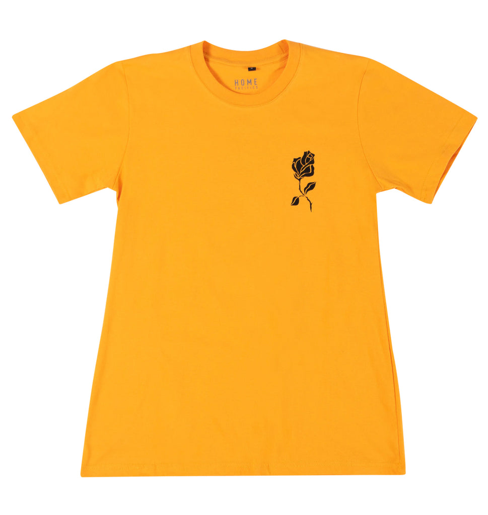 Rose T-shirt Yellow