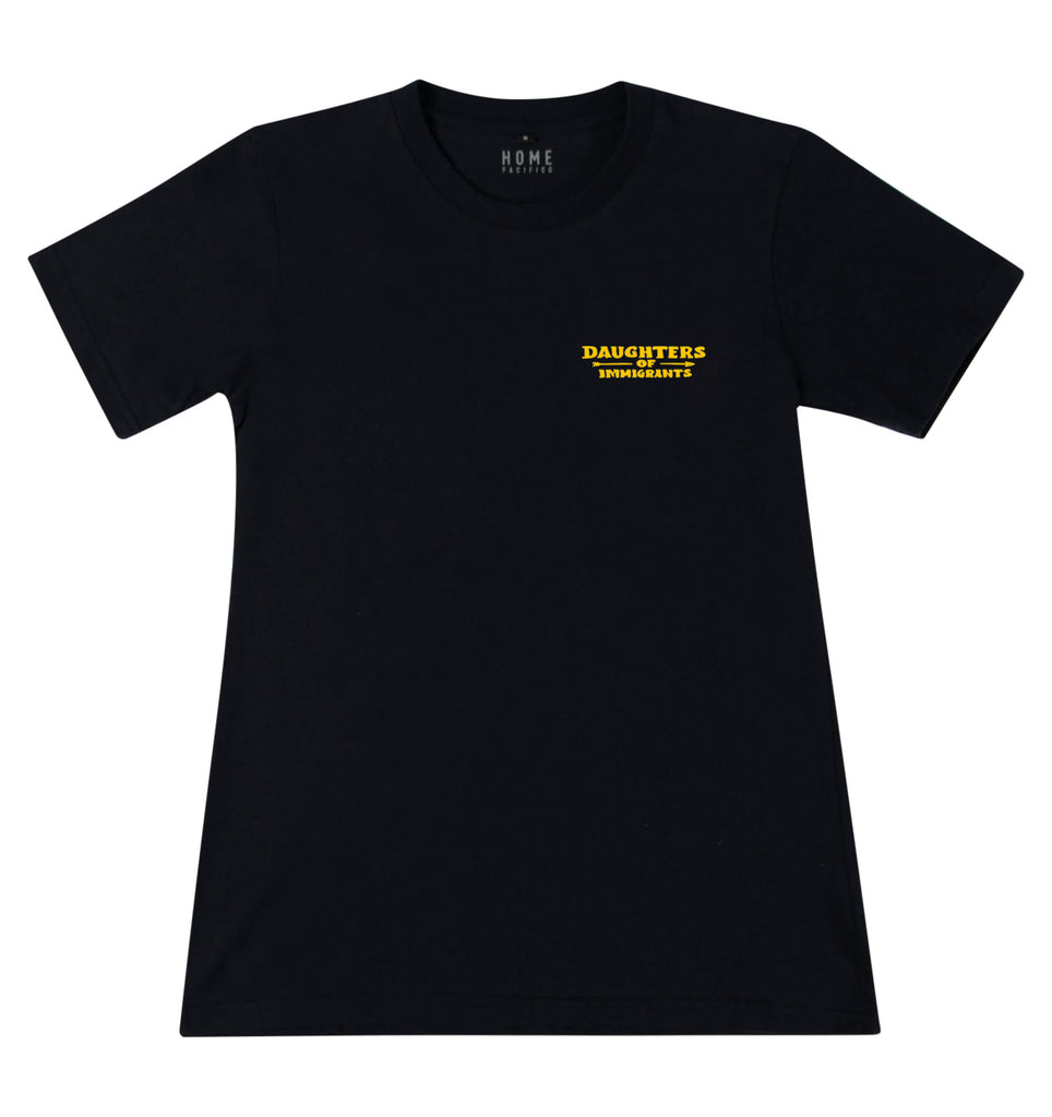 Daughters of Immigrants T-Shirt Black