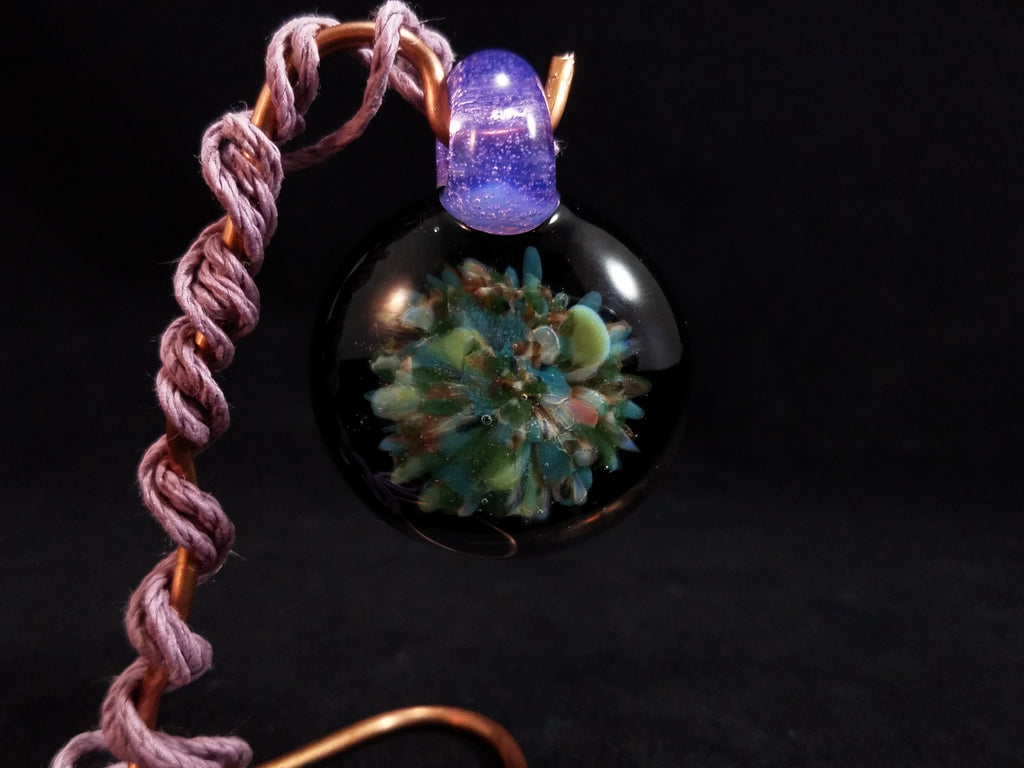 Night party Glass Pendent