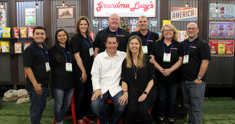Grandma Lucy's Team at SuperZoo 2018