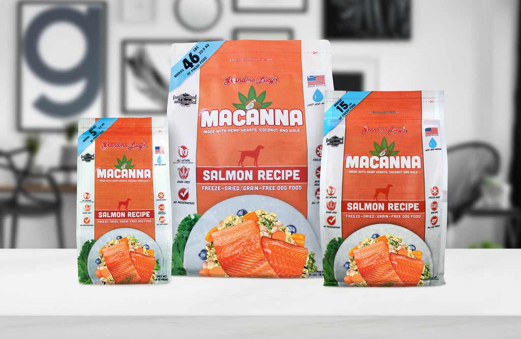 Macanna Salmon 1lb, 3lb and 8lb sizes