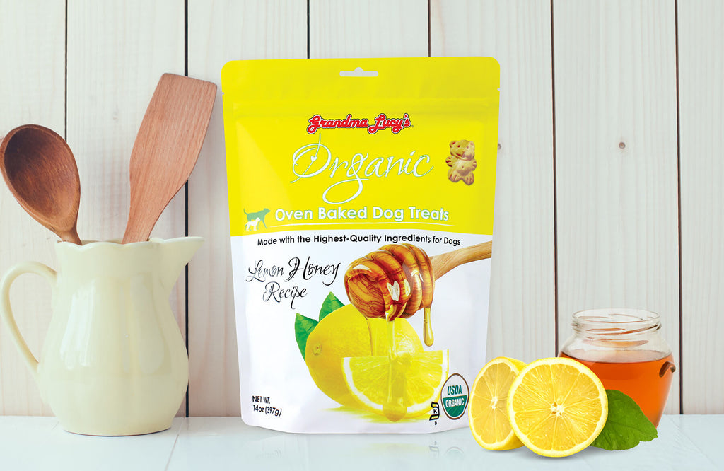 Organic Lemon Honey 14oz size