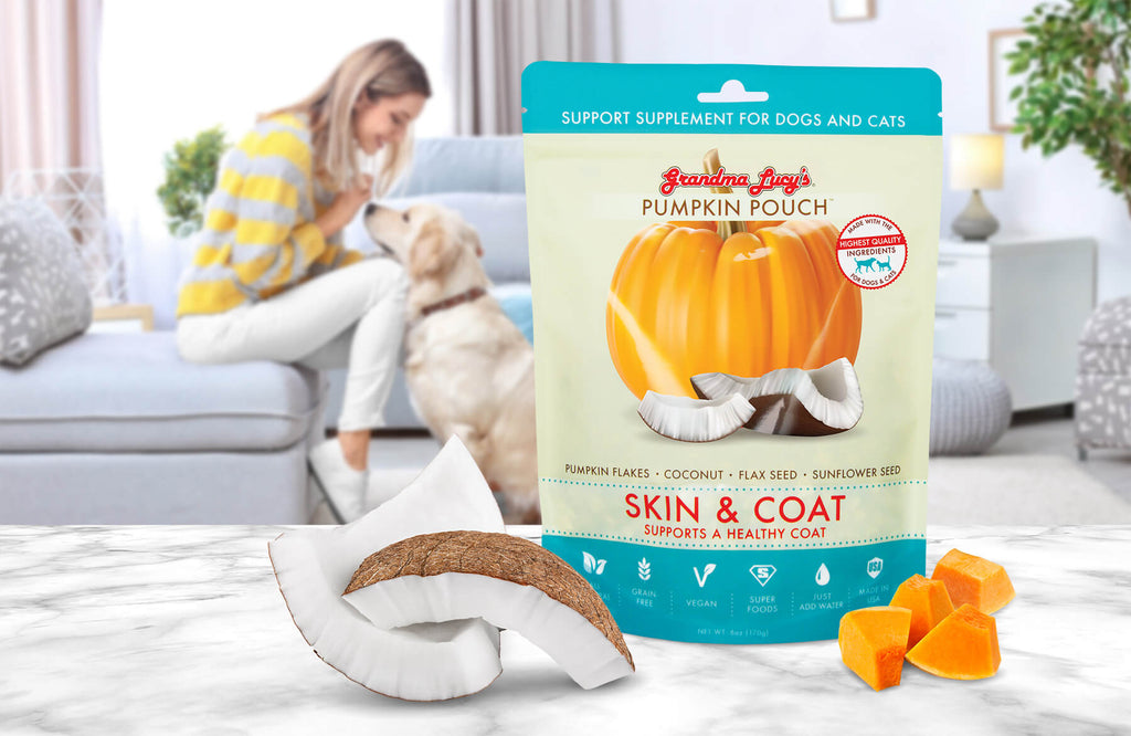 Pumpkin Pouch - Skin and Coat