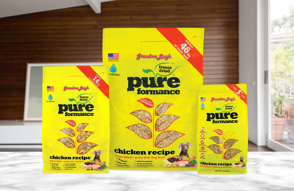 Pureformance Chicken 1lb, 3lb and 10lb sizes