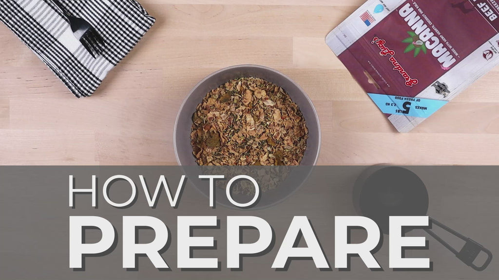 How to prepare Macanna video