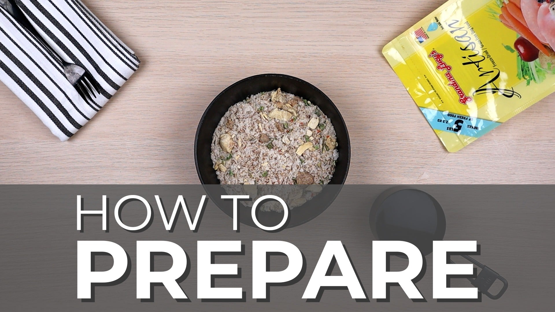 How to prepare video