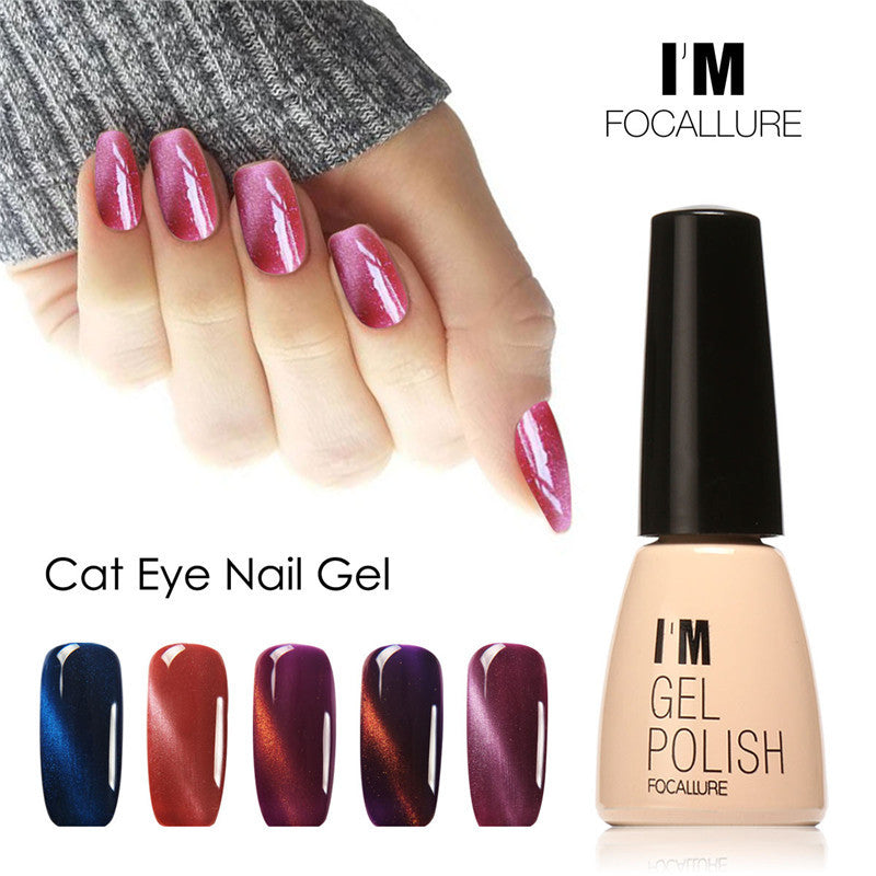3D Cat Eyes Gel Nail Polish UV Gel Polish Long-lasting Soak-off LED UV