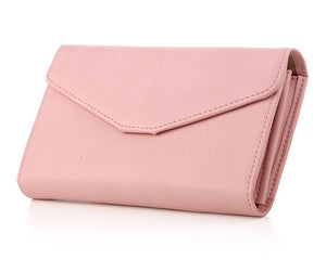 Top Quality Leather Wristlet Women Wallet Female Brand Multifunction Long Purse Holder Phone/Passport Lady Business Purse