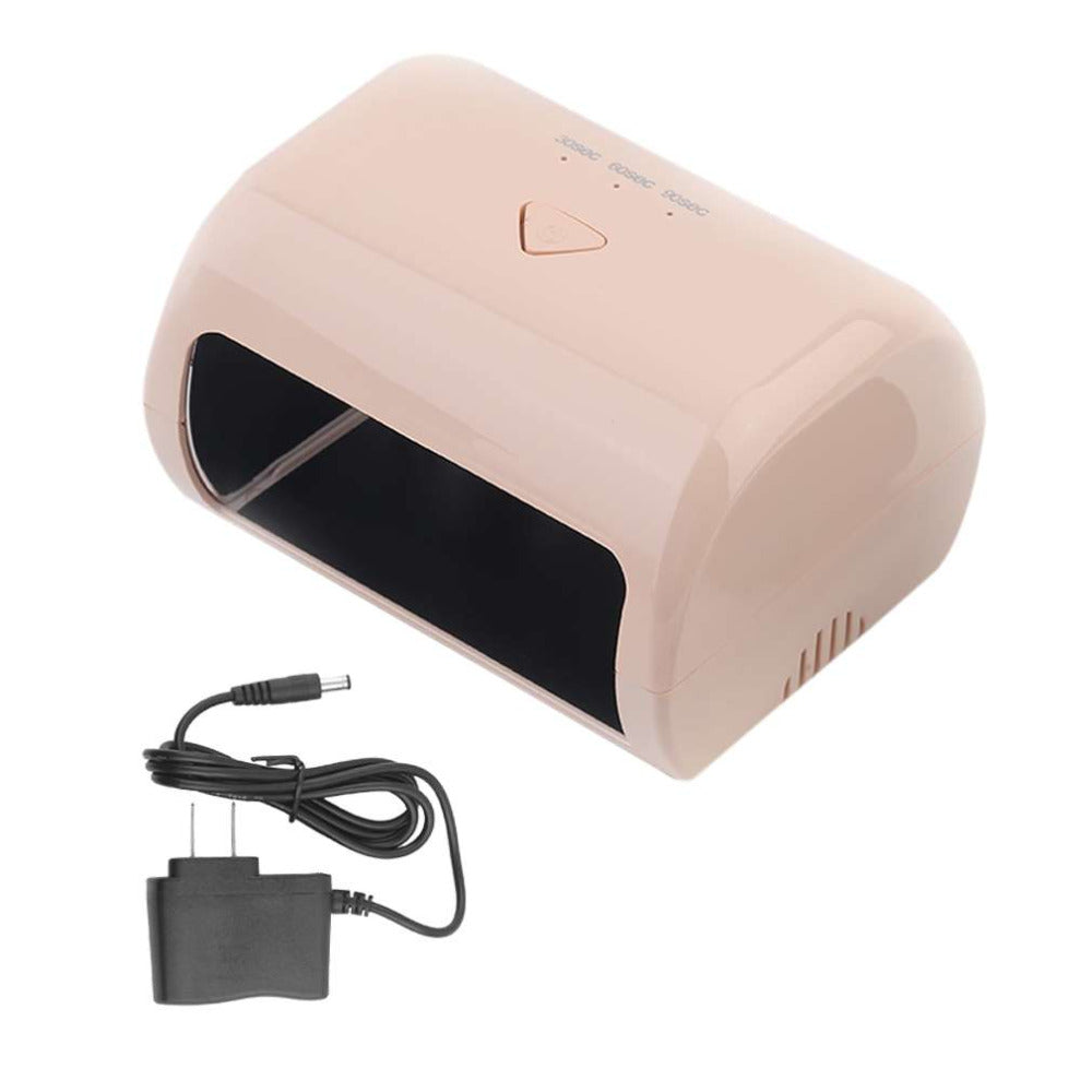 9W Portable LED Nail Lamp Nail Art Dryer Fast Curing Gel Polish Dryer Manicure