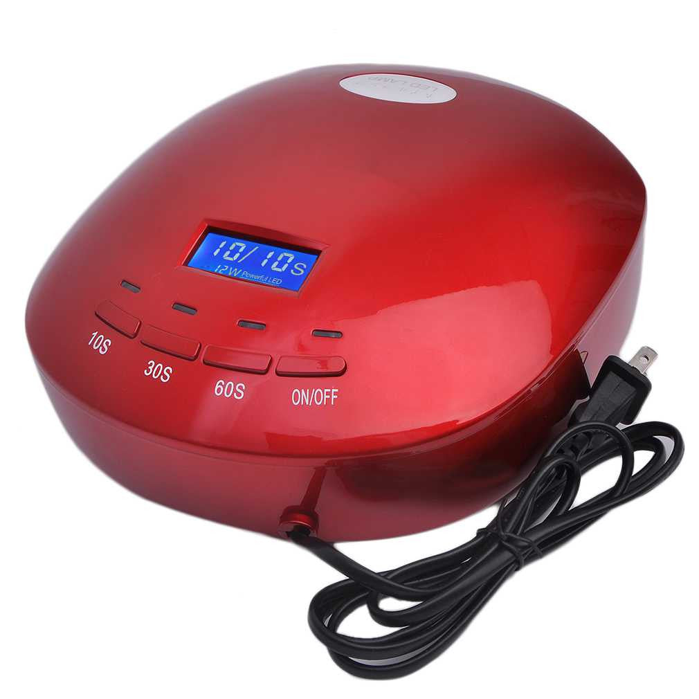 12W LED Nail Curing Lamp Machine Nail Art Tool Automatic Timer for UV Gel Nail Polish Fast Drying New Style top quality