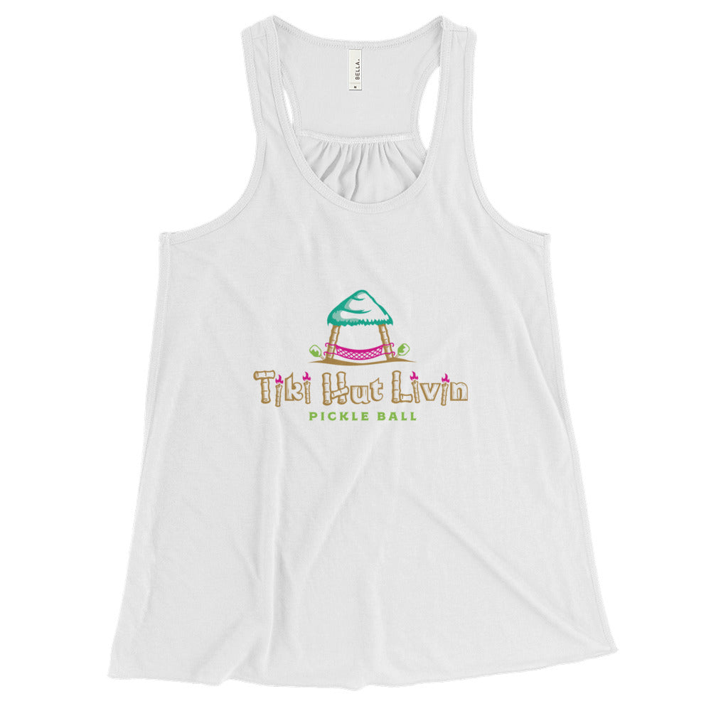Women's racerback pickleball tank
