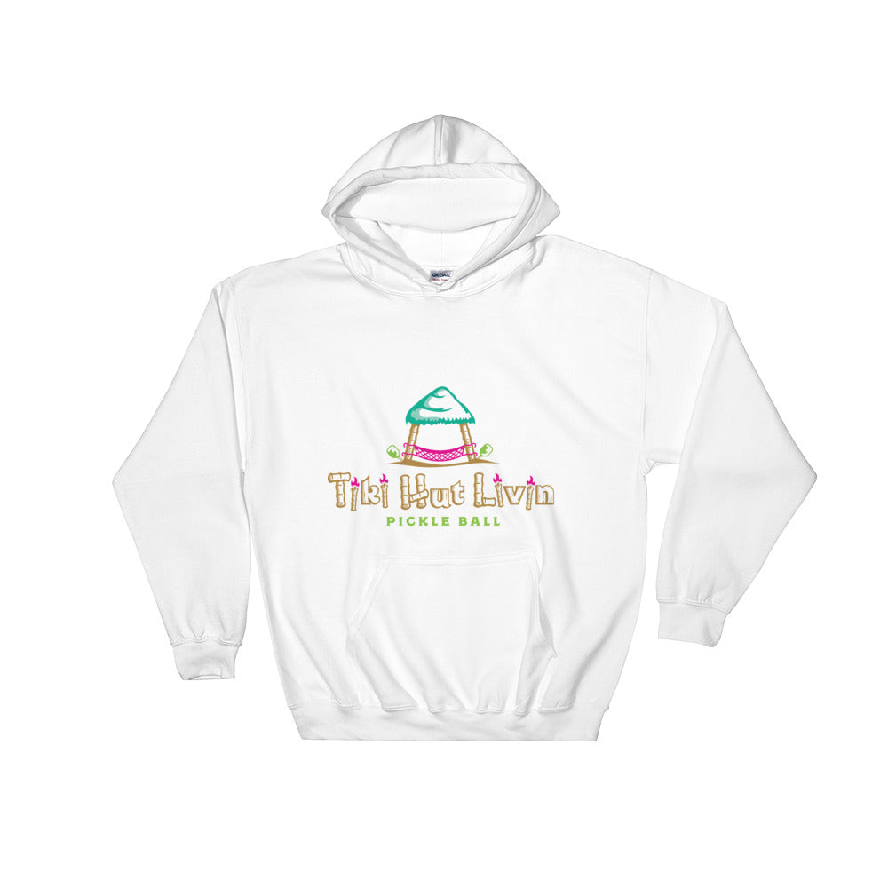 Unisex hooded sweatshirt, pickle ball