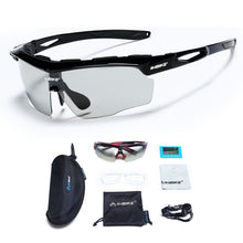 INBIKE Photochromic Sports Eyewear Windproof Cycling Glasses MTB Road Bike Polarized Sunglasses Fishing Running Bicycle Goggles
