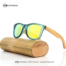 Trendy retro  bamboo sunglasses