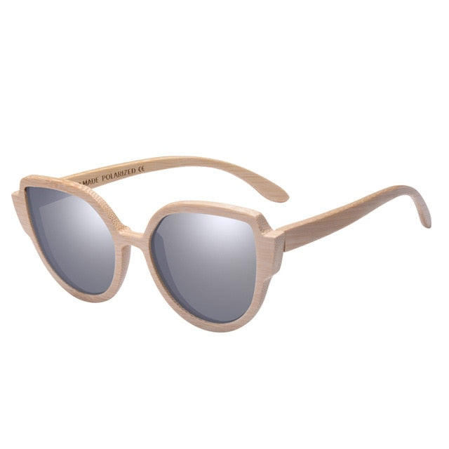 Women's bamboo fashion sunglass