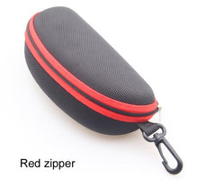 Sturdy zippered sunglass case with carabiner