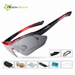 Multiple lens sport sunglass with prescription insert